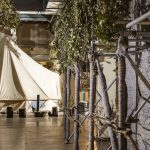 Madlove take over bell tent and outside of performance space